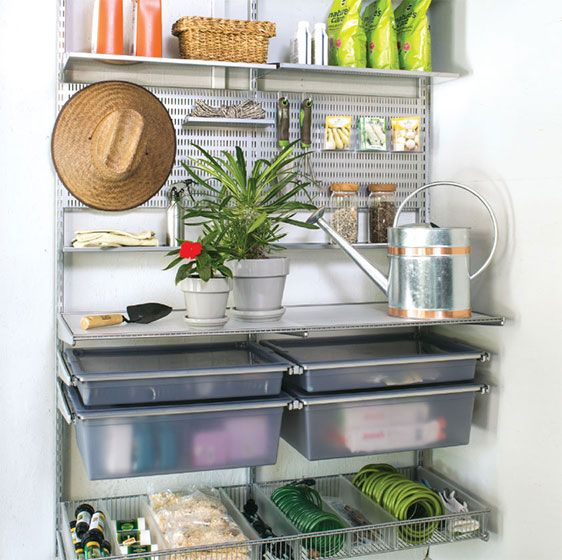 platinum elfa utility garden station elfa garden tool on cheap diy garage organization ideas to inspire you tips for clearing id=74838