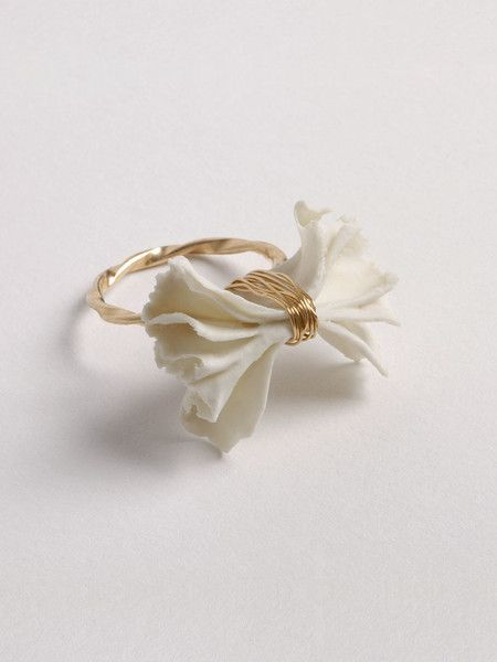 Porcelain Bow Ring | SWORDS-SMITH