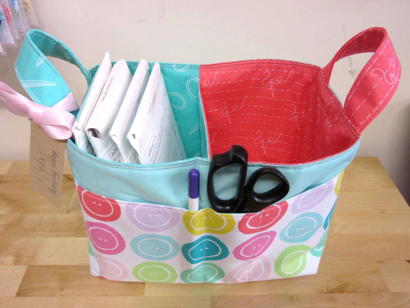 Enchanting Fabric Shower Caddy Crest - Luxurious Bathtub Ideas and ...