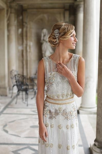 vestidos de novia: famosos y locos años 20 | vestidos aÑos 20