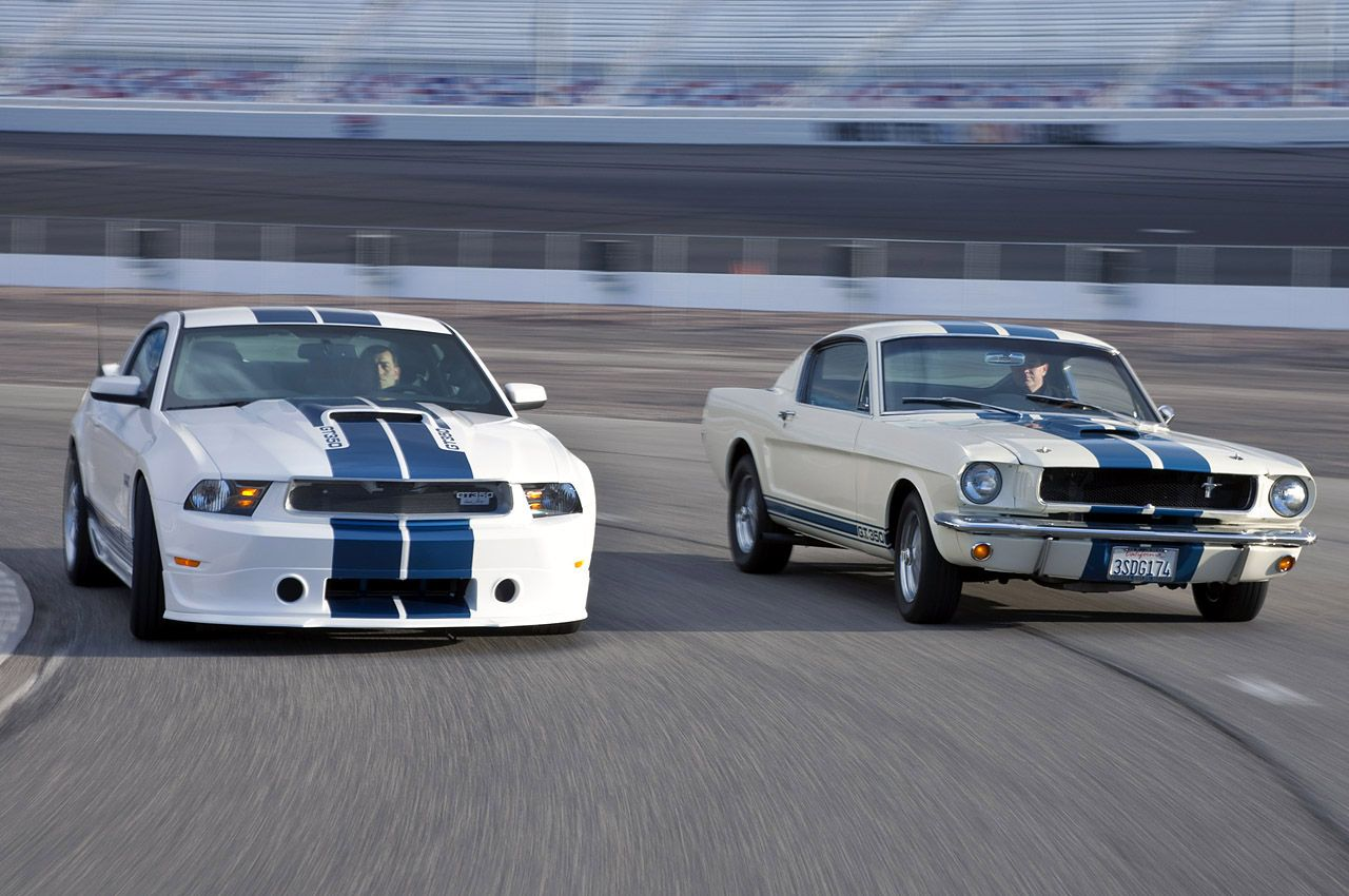 2011 Mustang Shelby GT350, 1965 Mustang Shelby GT350