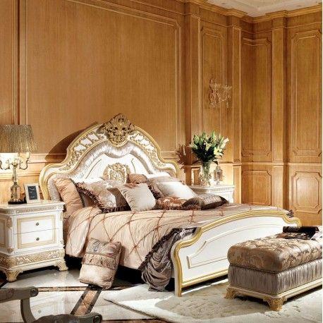 Schlafzimmer Michelangelo Französisches bett, Weiße