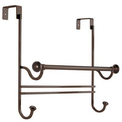 Rebrilliant Norris Over The Shower Door Towel Rack Shower Doors Bathroom Shower Doors Glass Shower Doors