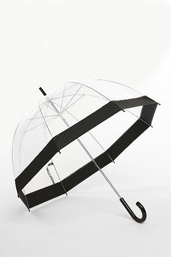 Clear umbrella - just like the ones from Japan!
