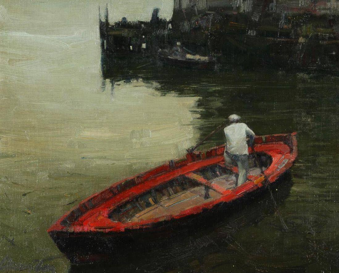 Oscar Vaz (1909 - 1987) El Botero, 1953