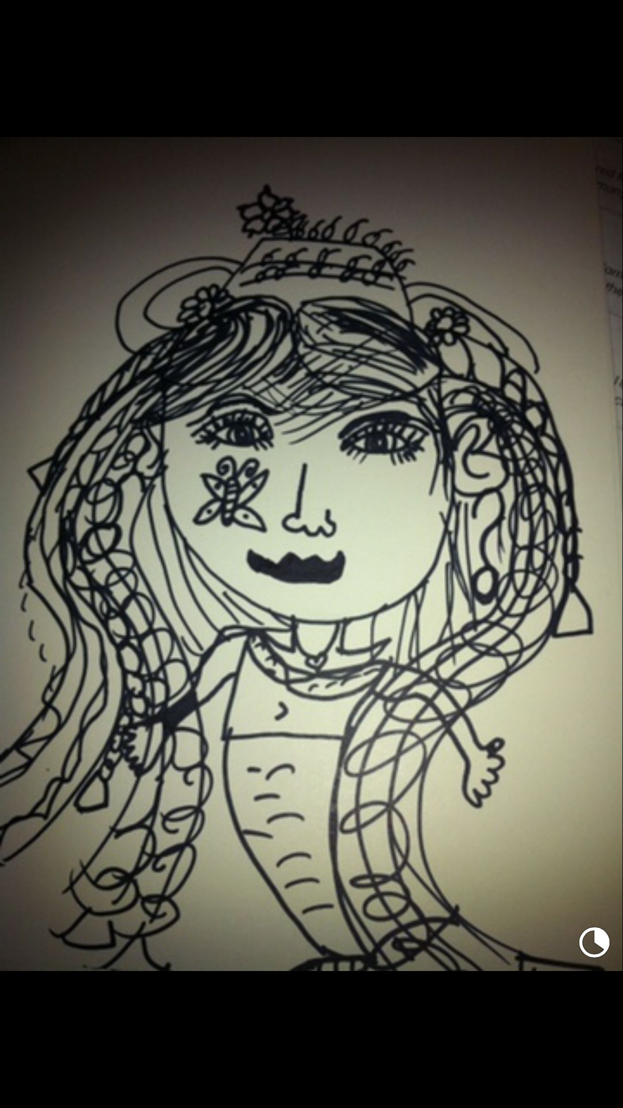 Mom Sharpie Drawing By Camila Camila S Virtual Exhibit  # Muebles William Piedrahita