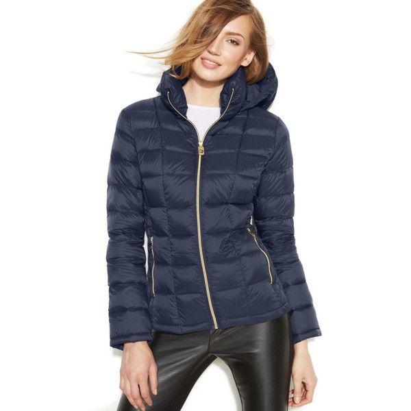 Michael Michael Kors Hooded Down Packable Coat ($110 ...