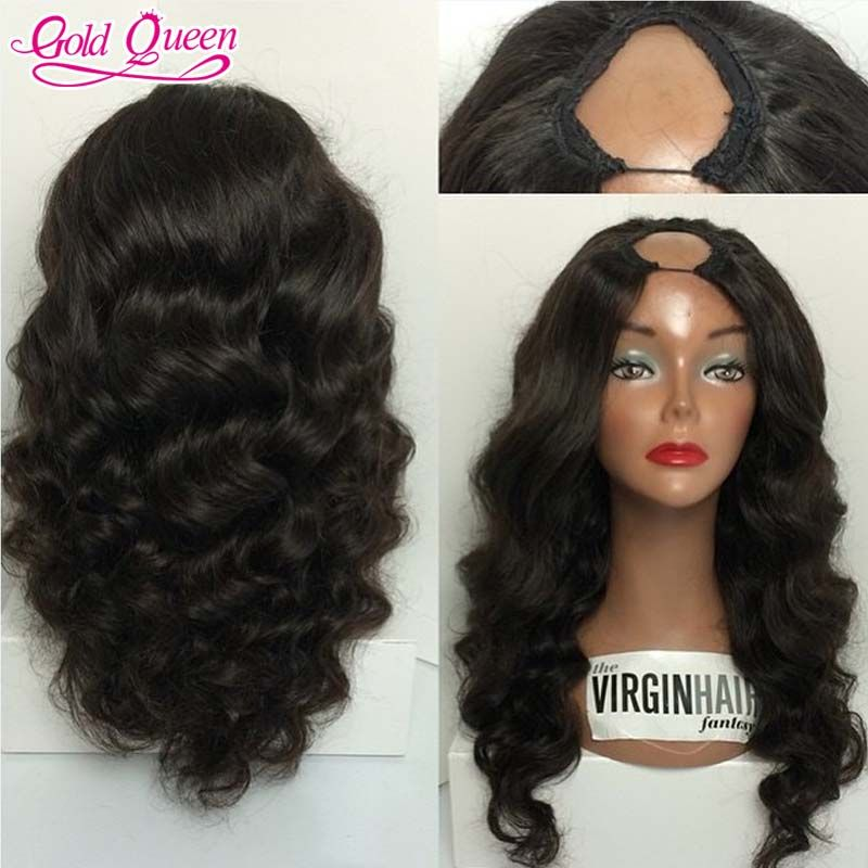 high density wig for black women Brazilian virgin human hair u ...
