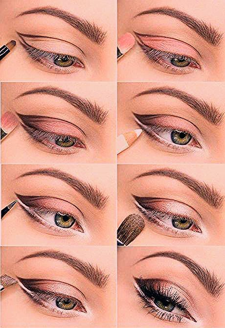 Photo of weiche Farbe für größere Augen – für kleine und dunkle Augen – rosa Schatten – Make-up Geheimnisse