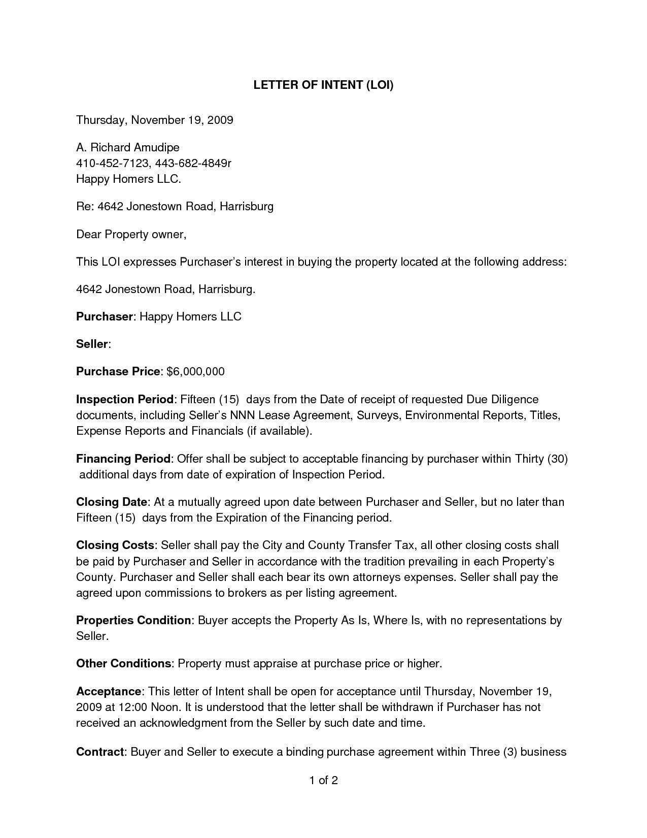 21 Business Buy Sell Agreement Template Letter Intent Template For Real Estate Luxury E Week Letter Of Intent Letter Templates Lettering