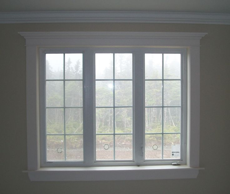 30 best window trim ideas design and remodel to inspire for Modern interior window trim