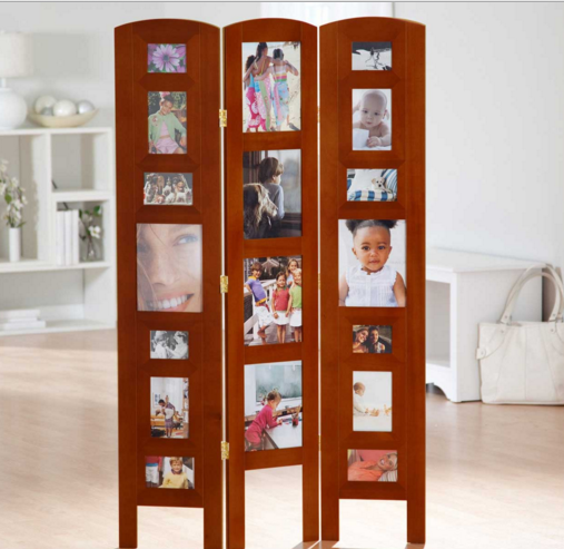 Tri fold picture frame Room dividers and partitions can serve a ...