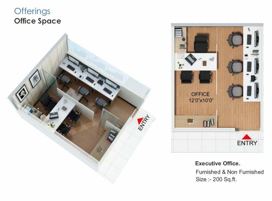 Winsten Park Office Space 200 Sq Ft Modern Office Design