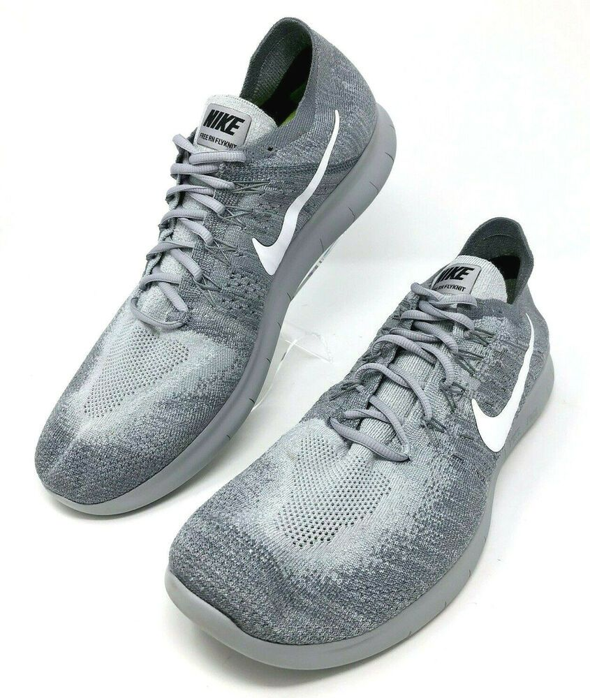Intercambiar occidental Opresor  NIKE Mens Shoes Size 15 Free RN Flyknit 2017 Wolf Gray White Running  Sneakers   eBay   Mens nike shoes, Nike, Nike men