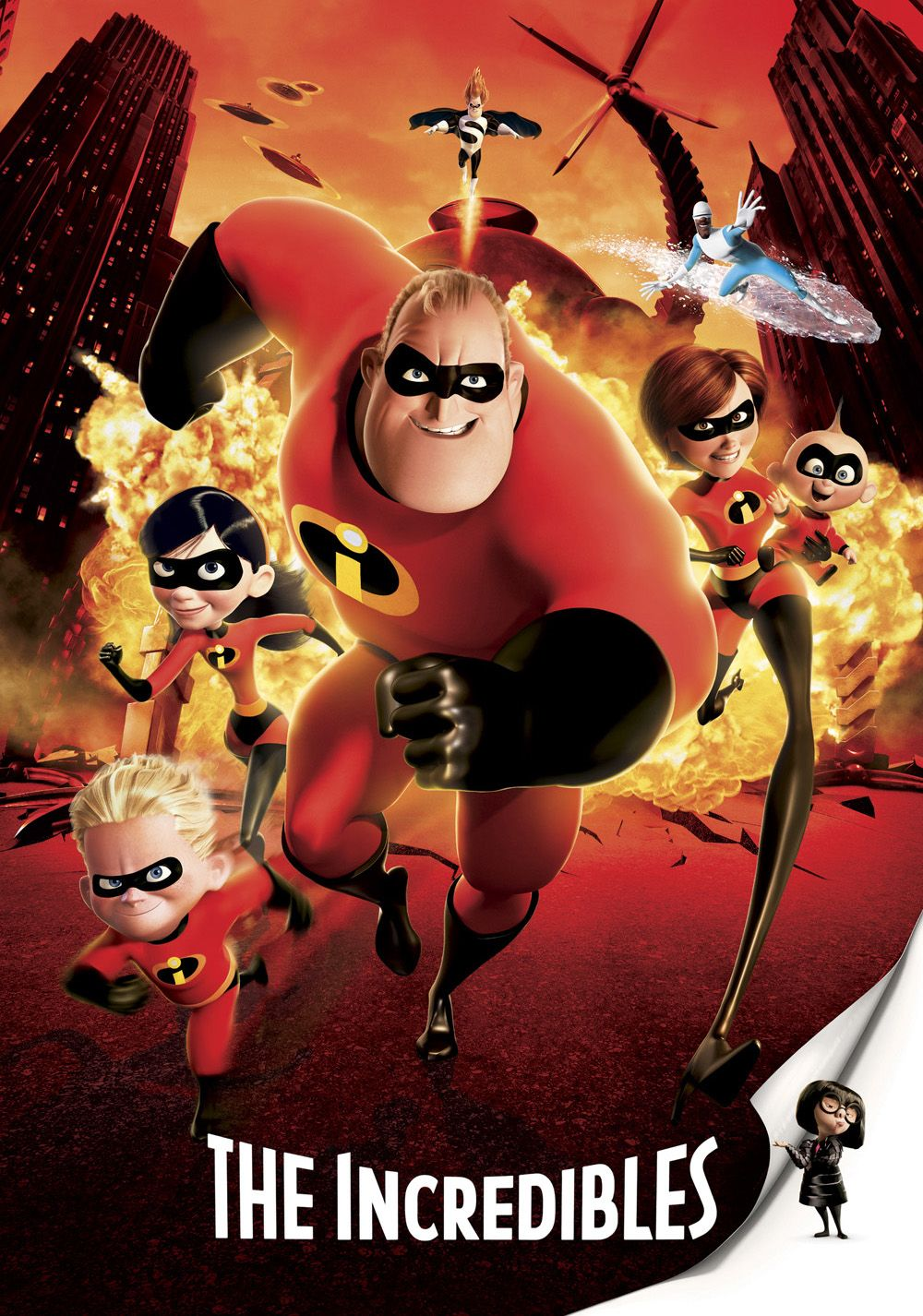 The Incredibles (2004)   Twice the hero he used to be