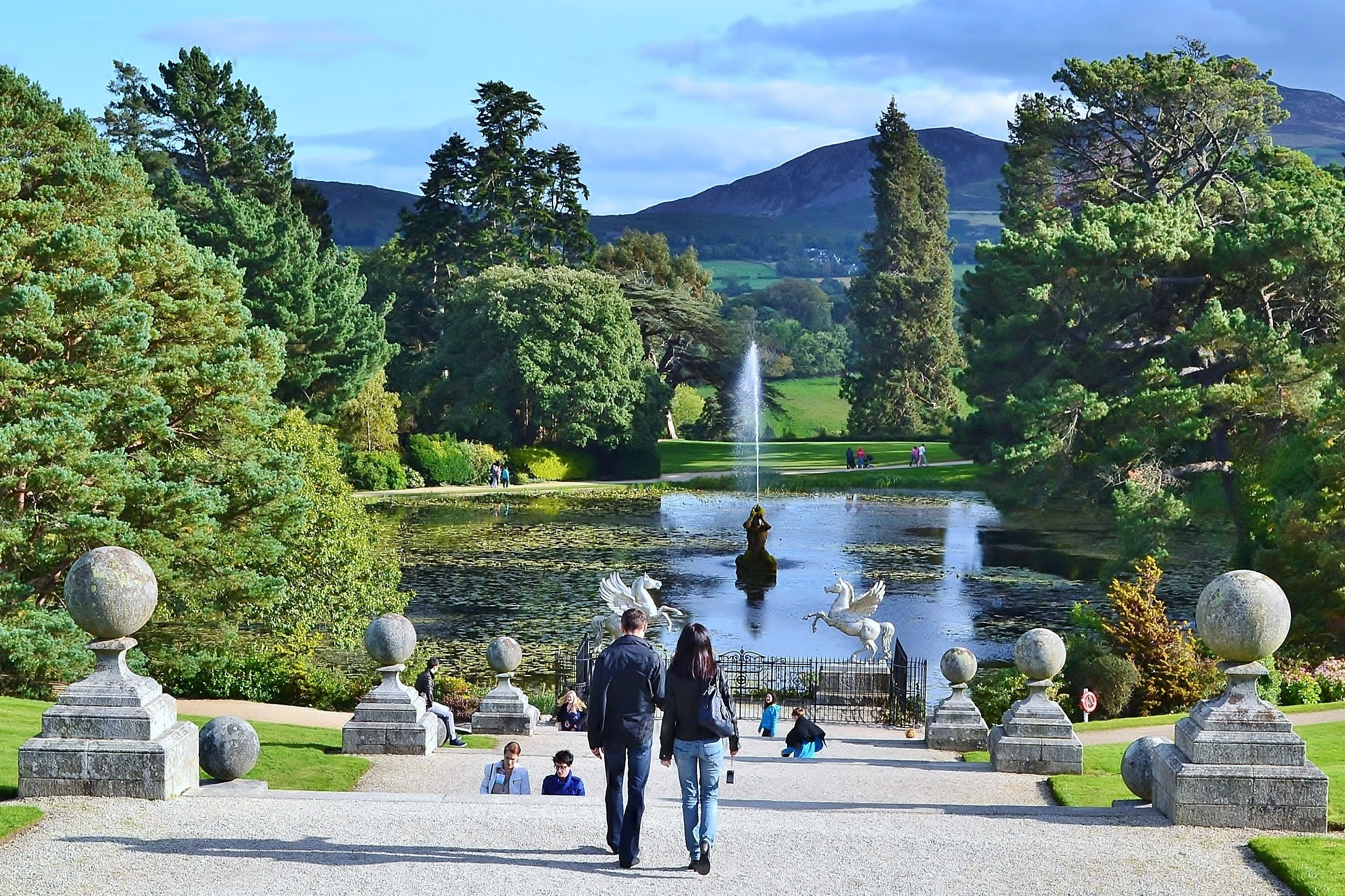 Triton Lake, Powerscourt Gardens, Wicklow, Ireland. www.powerscourt.ie # powerscourt #wicklow #ireland | Ireland homes, County wicklow, Pictures