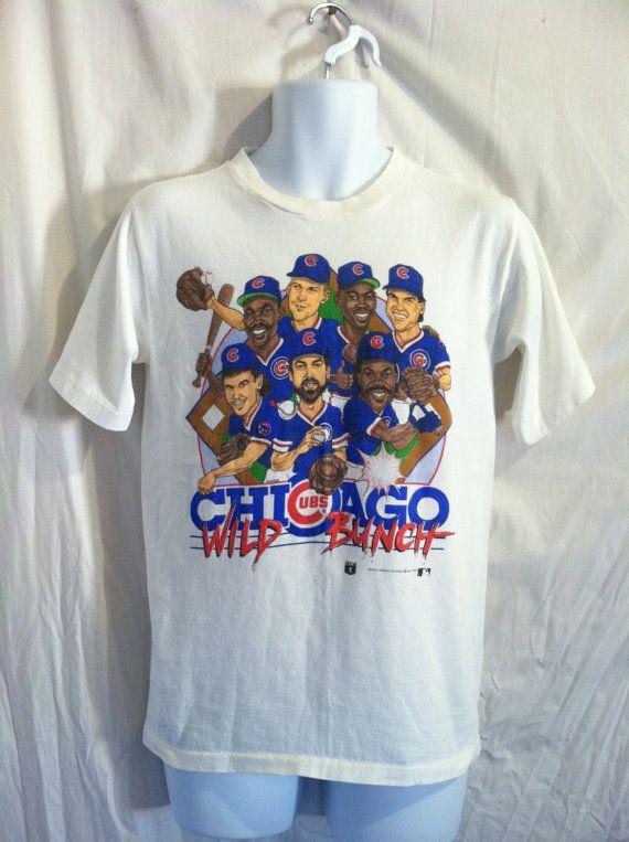 Vintage CHICAGO CUBS Tshirt 1989 Original Wild by sweetVTGtshirt, $50.00