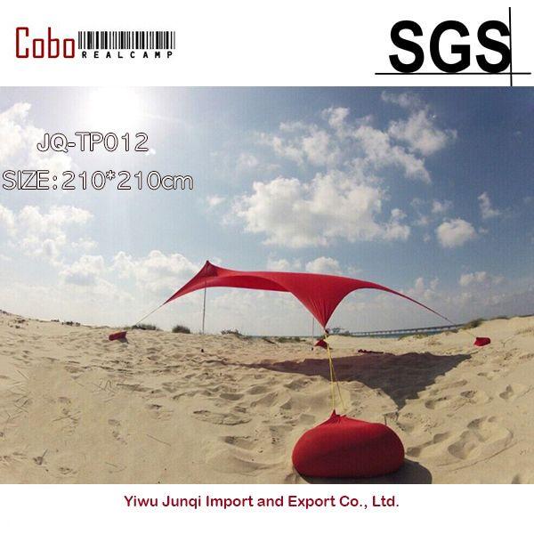 Sale Hot Sea Beach Campingtent Tarp Sunshade Inflatable Shelter Canopy Sand Anchor Carry Bag Rain