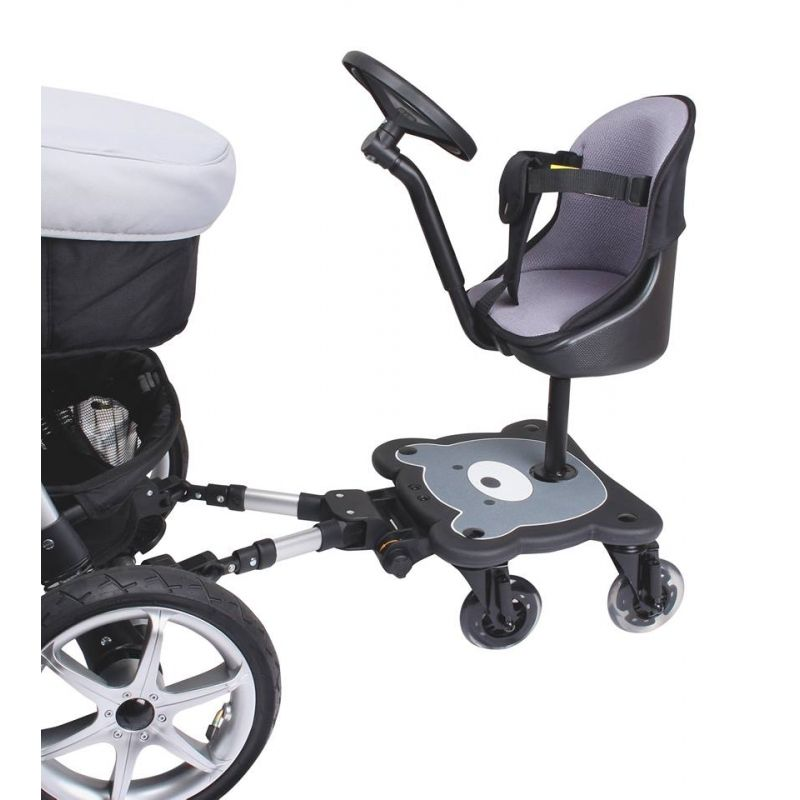 Mee-Go 4 Wheel Ride On Board with Seat Pad