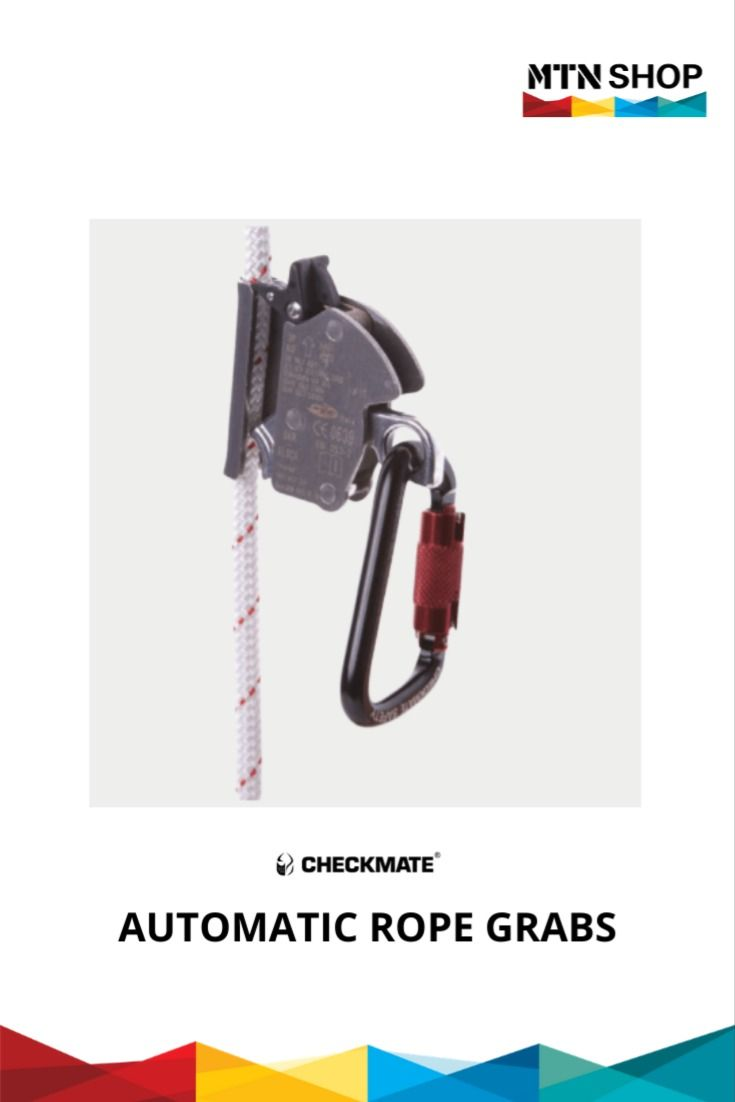 Checkmate automatic rope grabs their kits in 2020