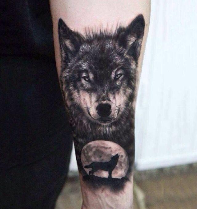 Pin de Emma Flowers en Inked Pinterest Tatuajes de lobo, Para