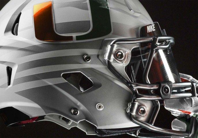 Miami hurricanes unveil new 2014 nike football uniform design miami hurricanes unveil new 2014 nike football uniform design helmet game 28 687x479 miami hurricanes unveil voltagebd Choice Image