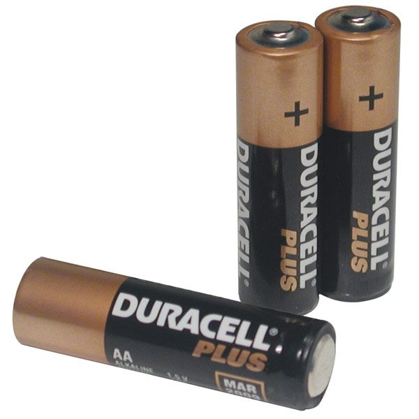 Duracell Aa Batteries Package Of 3 Duracell Batteries Aa Batteries