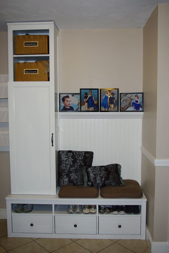 Ikea Hacks Mudroom Amazing furniture Pinterest Ikea hack