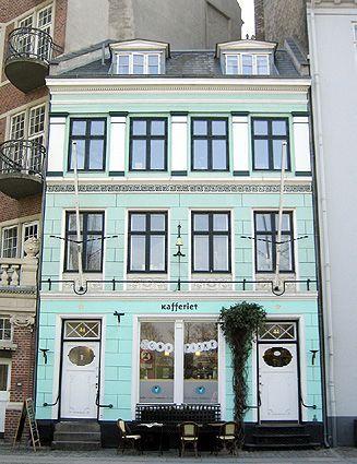 My very favorite coffee shop in the entire world: Kafferiet at Esplande in Copenhagen