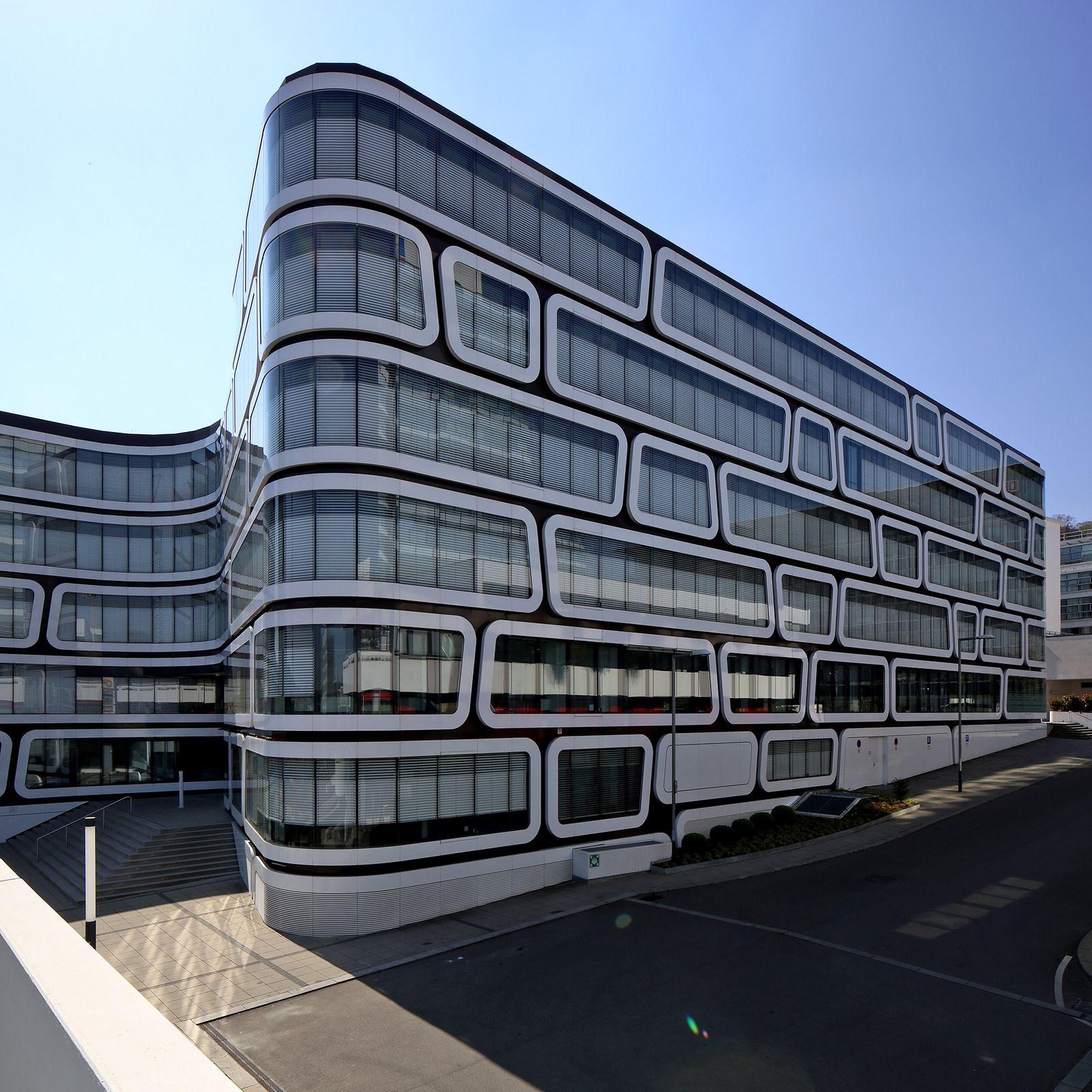 Architects Stuttgart z up office building stuttgart by wolfgang kergaßner office