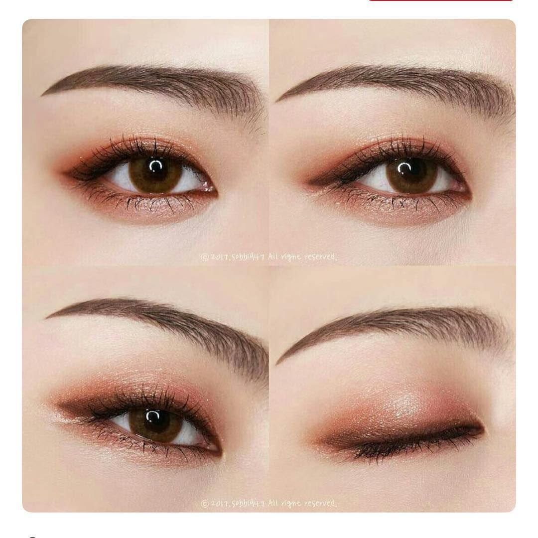 Korean Korean eye makeup, Asian eye makeup