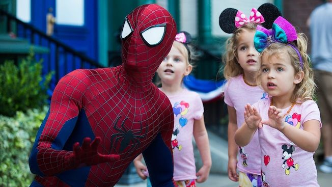 Spiderman at Disneyland California