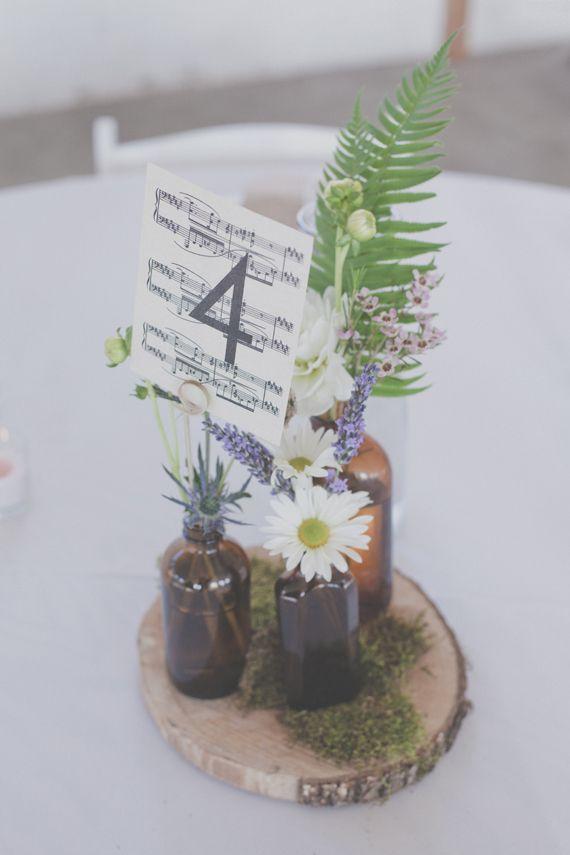 All Music Chords portland sheet music : Vintage inspired decor for this Portland wedding | DIY Wedding ...