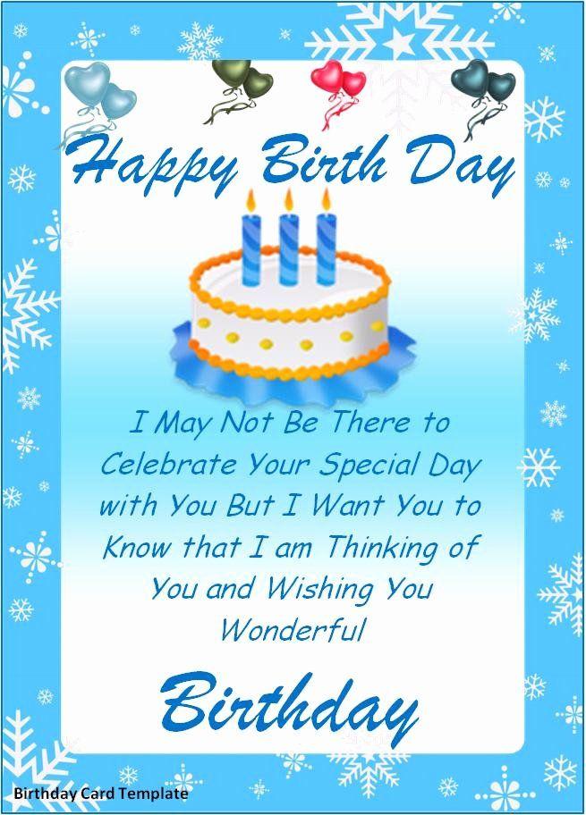 Microsoft Word Birthday Card Template New Birthday Card Regarding Microsoft Word Birthday In 2021 Free Birthday Card Birthday Card Template Free Birthday Card Template