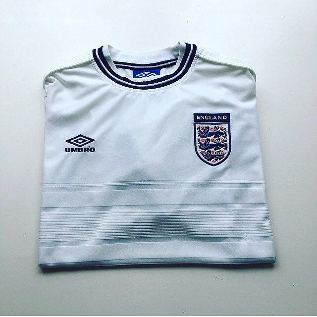 cef6ed722 Retro Vintage · Soccer · Hs Football · England home shirt euro 2000 - link  in bio  England  englandshirt  englandnationalteam