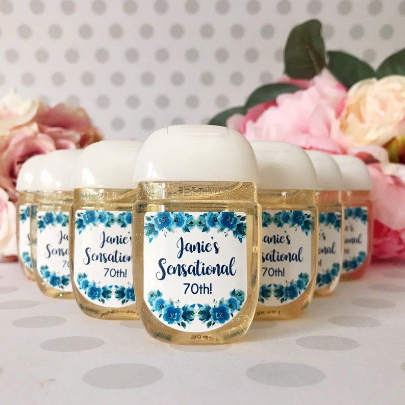 Wedding Favors Hand Sanitizer Labels Bridal Shower Favors Etsy