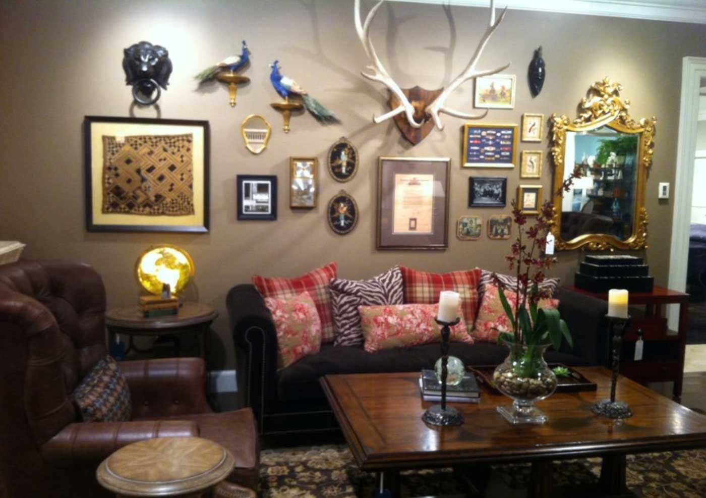 Hunting Decor For Living Room Interior Paint Color Schemes Check More At Http Mindlessapparel C Hunting Room Decor Wall Decor Living Room Living Room Decor Hunting living room ideas