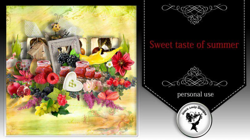 Sweet taste of summer by Black Lady Designs - $2.50 : ScrapBird!, source for digital scrapbooking