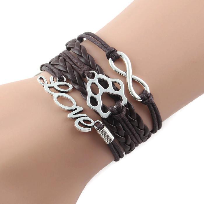 Handmade Infinity Love Bracelet