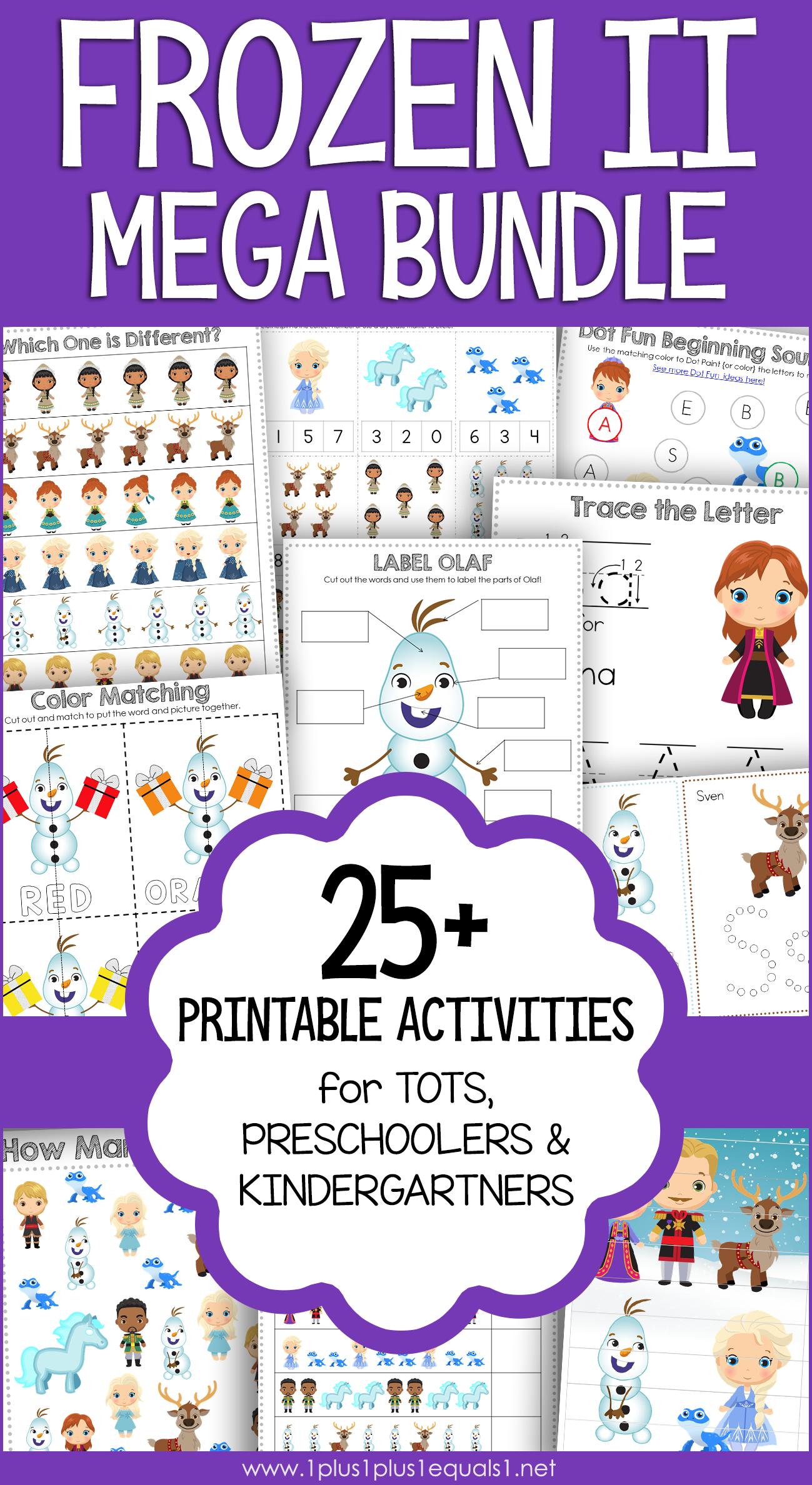 Printable Activities By Lori Campbell On Preschool
