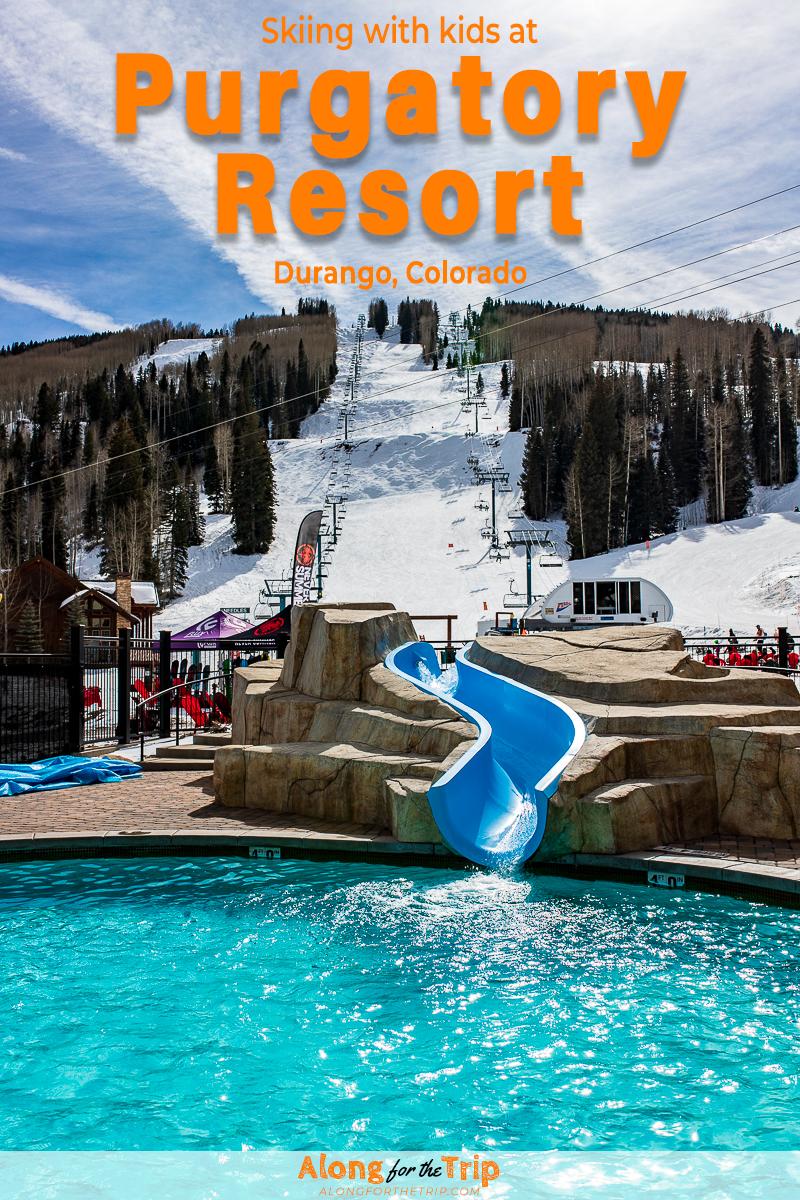 Family skiing at Purgatory Resort - Durango, CO | Colorado ...