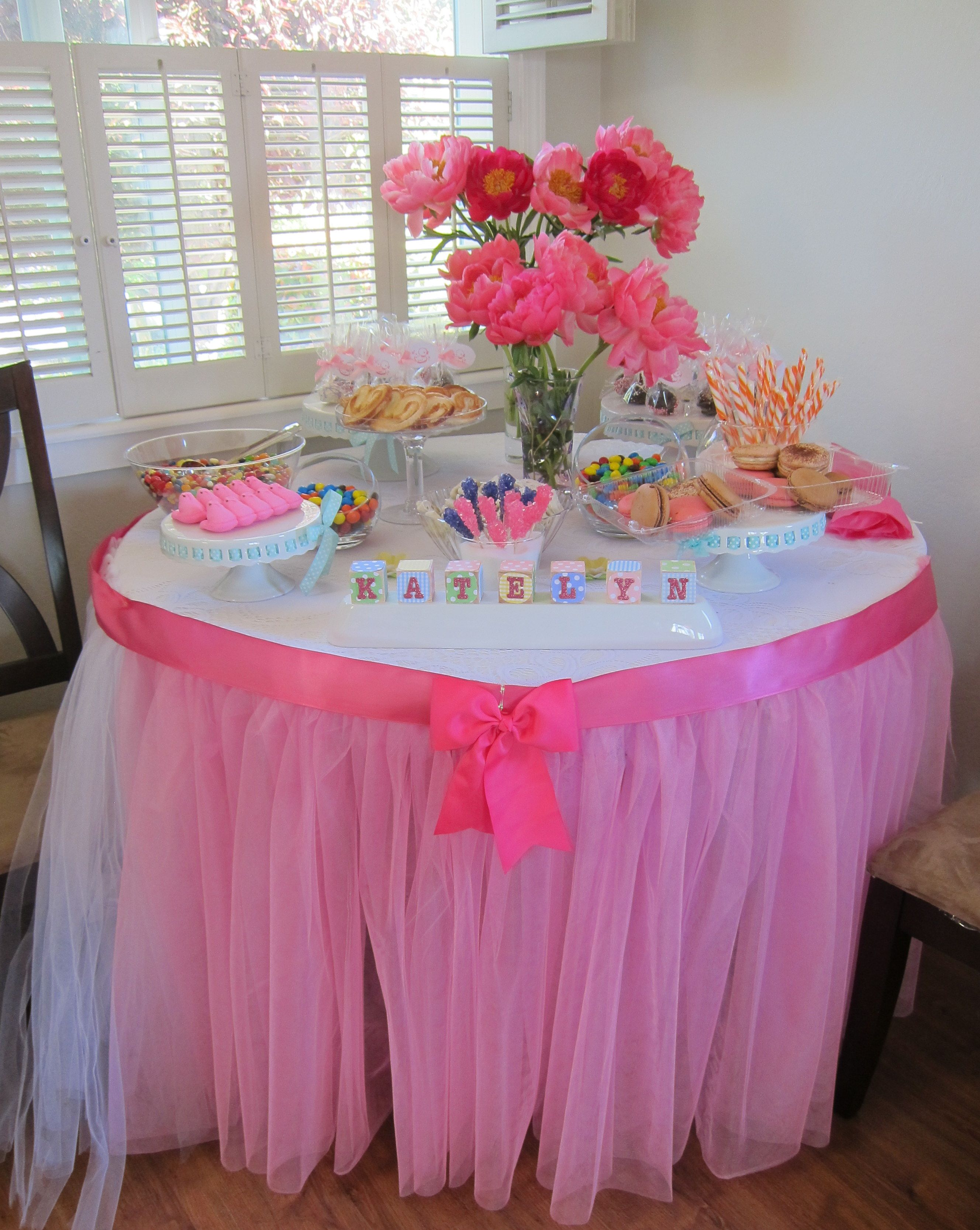 Manteles Para Mesas Dulces Replace The White Table Clothe With An Black One