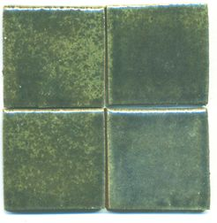 Clay Squared Jade Moss field tiles
