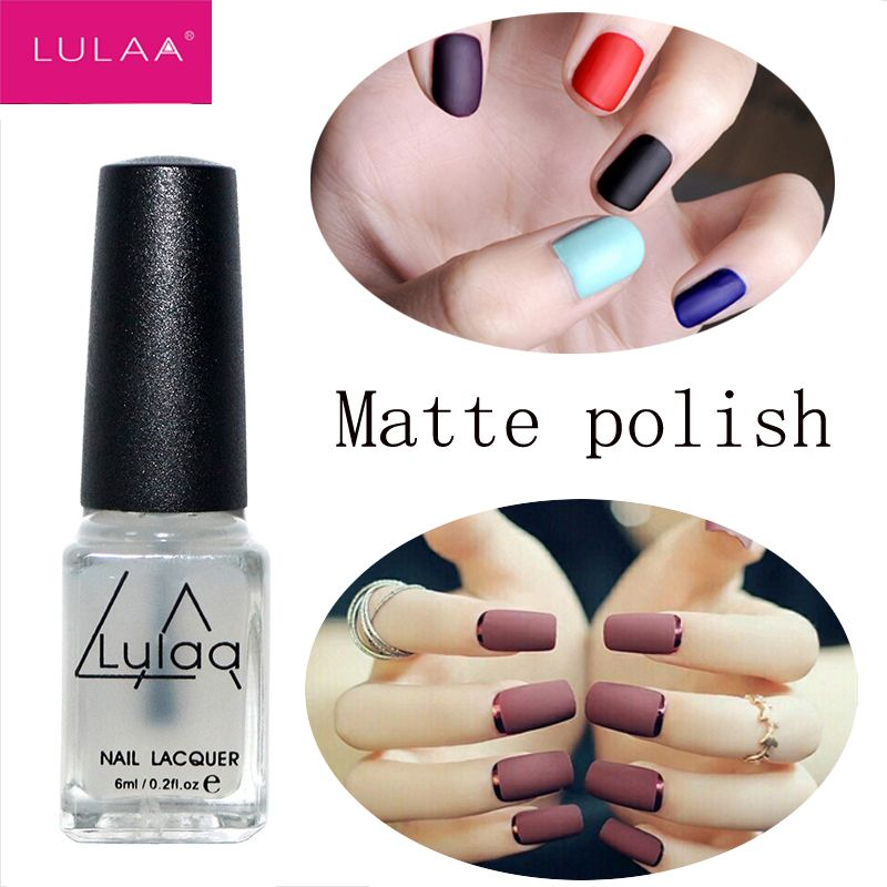 2017 New Product 6ML Nail Polish Magic Super Matte Transparent Nails ...
