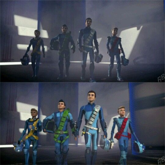 Best Entrance Ever With Images Thunderbirds Are Go Gerry