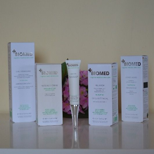 EmDesigns: Biomed - Organic medical skin care: Brand introduction