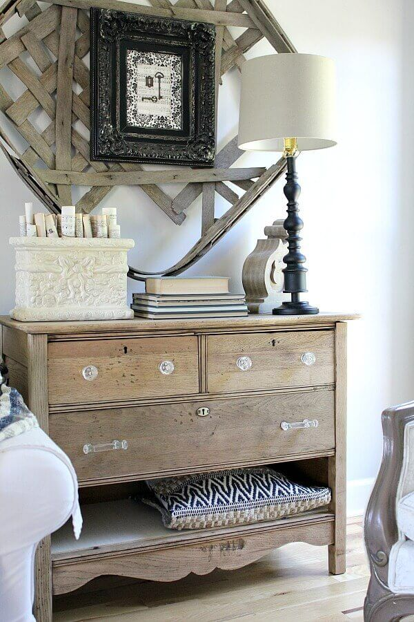 A Diy Unfinished Natural Wood Dresser Raw Wood Furniture Wood