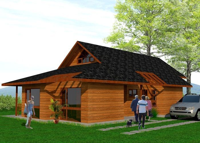 Casur casas prefabricadas modelo lonquimay ideas for Modelos casas prefabricadas