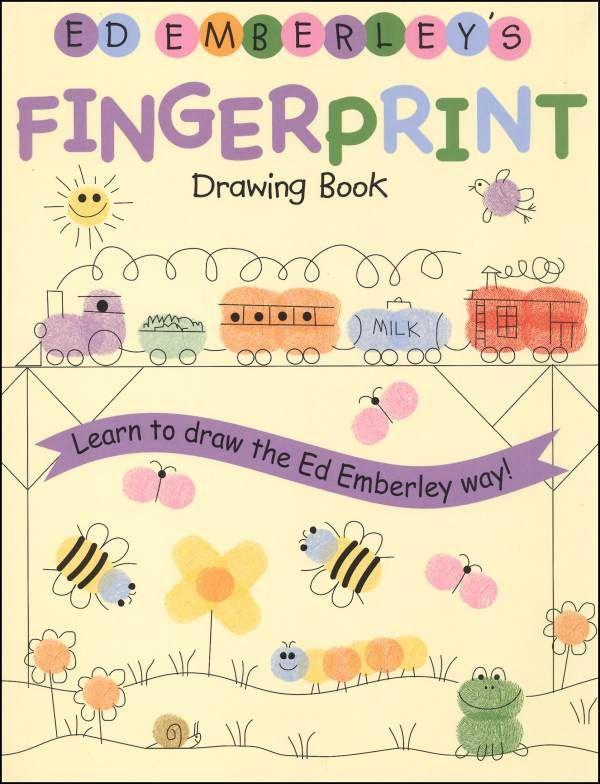 Drawing Emberleys Book Fingerprint