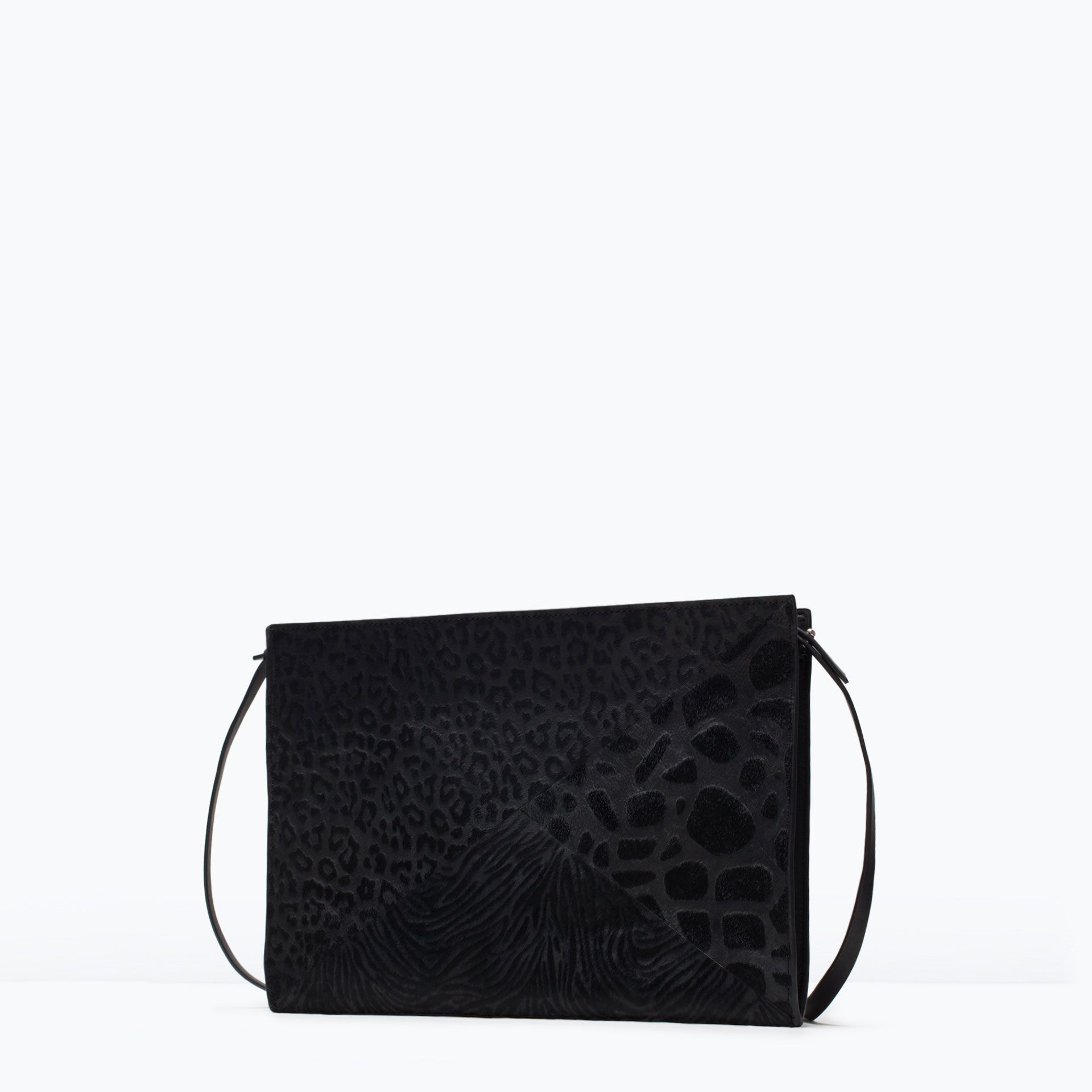 Image 2 of COMBINED CLUTCH BAG from Zara